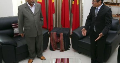Premeiru Ministru  Mari Alkatiri dada lia ho Prezidente Republika, Francisco Guterres 'Lu Olo