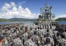Kapal Perang Australia yang Pernah Betugas di Timor Leste Ditenggelamkan