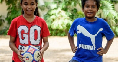 Herdinaldo Raek (Young Footballer) and Michelle Barris (Young Journalist) selected to represent Timor Leste at the F4F Programme in Russia(1)