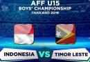 Piala AFF U-15 2019: Timor Leste Tahan Indonesia 1-1