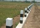 Proyek Penahan Jalan Dusun Kalibener RT 06 RW 01 Ds. Mergobener Kec Tarik Diduga Curi Start